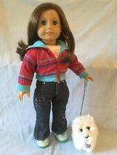 American Girl Just Like You / Truly Me #23 doll blue eyes freckles Coconut VGUC!