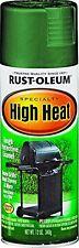 12 Oz Green Satin RustOleum High Heat Spray Paint Enamel