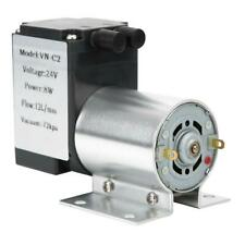 DC24V Vacuum Pump Large Power Negative Pressure Suction Pump + Stand 12L/Min