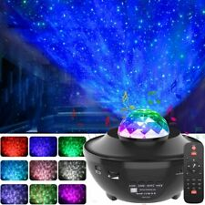 Starry Sky Night Lamp Bluetooth Galaxy Projector LED Light Ocean Wave Projector