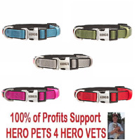 NEW Kong Padded Comfort Dog Collar S M L XL Red Blue Green Pink Grey