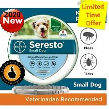 New listing Bayer Seresto Flea and Tick Collar for Small Dog Up to 18lbs,8 Months Protection