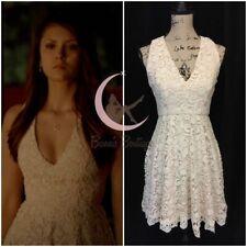 ASO Elena Gilbert French Connection Loving Crochet Dress The Vampire Diaries