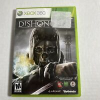 Dishonored (Microsoft Xbox 360, 2012) Complete Video Game Free Ship