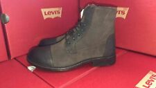 LEVI'S Maine Boots Brown Leather Suede Women's Shoes Comfortable Hiking Fashion