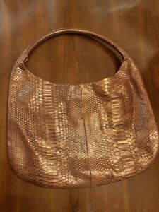 DEVI KROELL BAG AUTHENTIC Python Leather Italy New With Tag