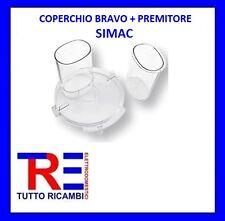COPERCHIO BRAVO SIMAC + PREMITORE SIMAC ROBOT DA CUCINA SIMAC DE LONGHI