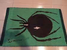 HAND MADE HOOKED CARPET 33''1/2 X 22''