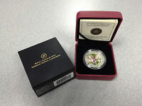 2013 Royal Canadian Mint 1/2oz $10 Silver Coin: Twelve Spotted Skimmer Dragonfly