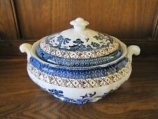 VINTAGE cabine ~ Real Old Willow ~ 1 xtureen e coperchio REG no.A8025