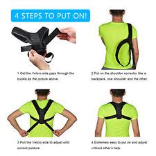 Réglable posture correcteur clavicule dos soutien accolade homme/femme ajuster
