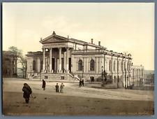 Odessa. La bibliothèque. P.Z. vintage photochromie. photochromie, vintage phot