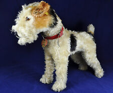 Steiff Foxy Fox Terrier 1335,2, KFS / Ids, 1954-1958, Stimme / Squeazer, 35 cm