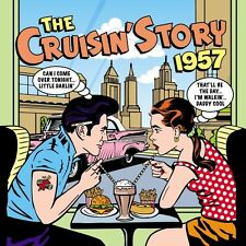 Cruisin' Story 1957 2-CD NEW SEALED Gene Vincent/Chuck Berry/Bo Diddley/Crickets