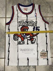 New S Vince Carter 15 Toronto Raptors Throwback Basketball Jersey Retro US