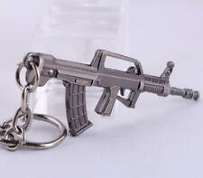 Cross Fire CF Submachine Gun KeyRing QBZ95 Miniature Weapon Model Keychain S