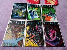 (1989) ALIENS 1-6 full set. First print. DARK HORSE