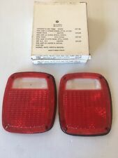 New Taillight Taillamp Lens Chevy Ford GMC Pickup Truck Jeep CJ Wrangler J10 (2)