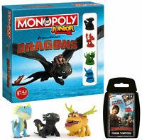 Monopoly Junior 2nd Edition Dragons Spiel Gesellschaftsspiel Brettspiel deutsch