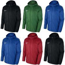 Nike Kids Rain Jackets Junior Boys Windproof Wind Breaker Lightweight Raincoat