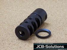 "5/8"" 24  308 7.62 muzzle brake Muzzle device w/ free crush washer. Custom Made"