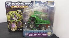 Transformers Energon Demolishor Comic Book & Collector Card 2003 NISB