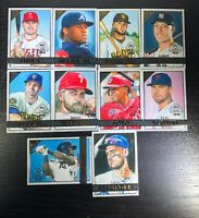 2020 Topps Chrome Gallery Preview Complete Set 10 Trout Tatis Judge Alonso Soto