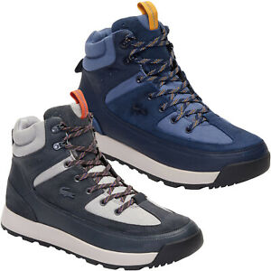 Lacoste Mens Urban Breaker 319 Leather Walking Hiking Outdoors Chukka Boots