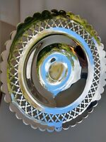 Stunning ARTHUR PRICE Quality Silver Plate Vintage Pedestal Comport Dish 2 Avail