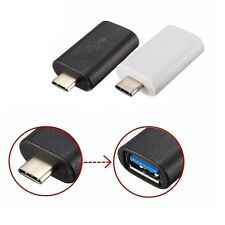 Mini Type C Male to USB 3.0 A Female OTG USB 3.1 Adapter Converter Connector UK