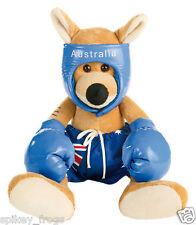 *NEW* SMALL AUSTRALIAN BLUEY BOXING KANGAROO SOUVENIR AUSTRALIA DAY TOY 30cm
