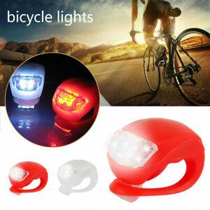 6 Stück LED Fahrrad Licht Set Vorne Hinten Front Rück Lampe Ultra Hell