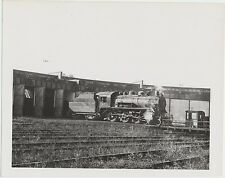 1950 C.P.R. T H & B Round House Train #953 Railroad Original Antique Real Photo