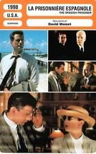FICHE CINEMA : LA PRISONNIERE ESPAGNOLE - Martin,Gazzara 1998 Spanish Prisoner