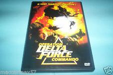 DVD OPERATION DELTA FORCE COMMANDO avec richard hatch