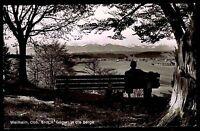 Weilheim Oberbayern Ansichtskarte 1960 Blick vom Gögerl in die Berge Panorama