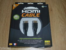 SONY PLAYSTATION 3 PS3 XBOX 360 HDMI CABLE 2 metre BRAND NEW! FULL HD upto 1080p