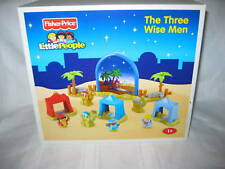 Fisher Price Little People Christmas Wise Men Nativity 3 Tent Camel Palm Tree