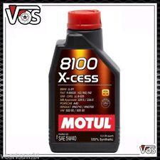 Olio Motore Motul 8100 X-Cess 5W40 4 LITRI 100% Sintetico ACEA A3/B4 API SN/CF