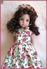 """POSY  OOAK Outfit  for 13"""" Effner Little Darling doll"""