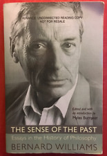 Bernard Williams   The Sense of the Past: Essays in the History of Philosophy