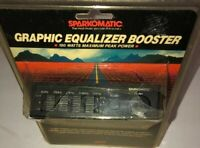 Sparkomatic GE50 50 Watt 5 Band Car Equalizer-RARE VINTAGE COLLECTIBLE-SHIP N24H