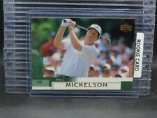 2002 Upper Deck Golf Phil Mickelson RC Rookie Card #41 Y277