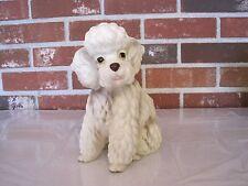 Vintage Lefton Ceramic / Porcelain Poodle Planter #H7859