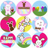 144 Easter Bunnies 30mm Children's Reward Stickers for Teachers, Party Bags