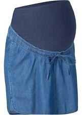 L M S Umstandsmode Umstandsrock Jeansrock Jeans Gr XL blau NEU