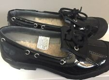 Black Patent leather Moccasins by Ugg's Australia sz US 6.5