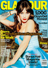 Glamour 2/13,Zooey Deschanel,February 2013,NEW