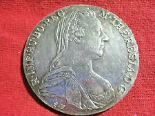 1780 THALER .8330 SILVER MOTHER THERESIA /AUSTRIA /0448