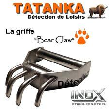 """Griffe inox """"TATANKA Détection"""" détecteur de métaux pelle gamate couteau"""